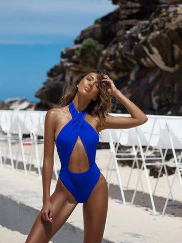Banned One Piece - Navy Rib