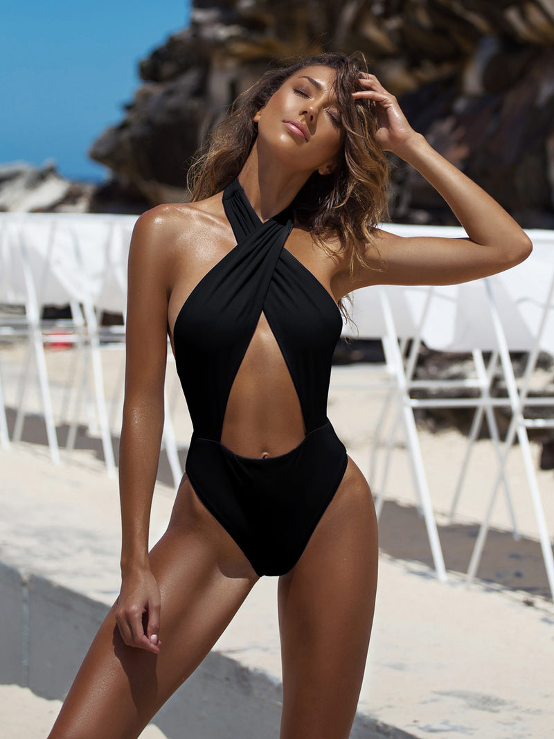 Shop the Alessia one piece from plumeria at Crispy Citron. We offer free shipping and easy returns