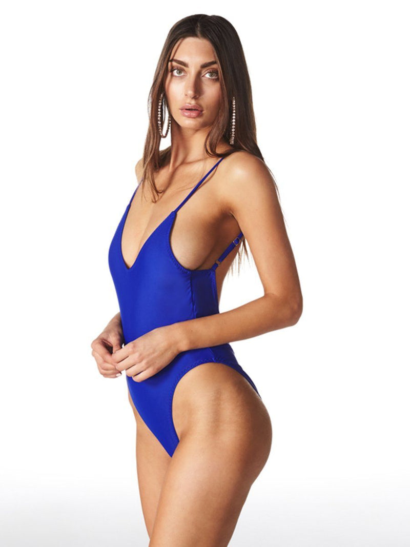 The Christy one piece is a deep cut swimwear with a V neckline and cheeky bottom. Shop this timeless one piece from Swm by Lioness at Crispy Citron. We offer free shipping and easy returns