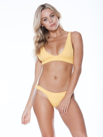 Low Tide Top - Yellow