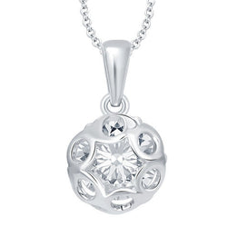London Solitaire Pendant with Chain