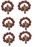 Catholic Finger Rosary Ring With Cross Crucifix
