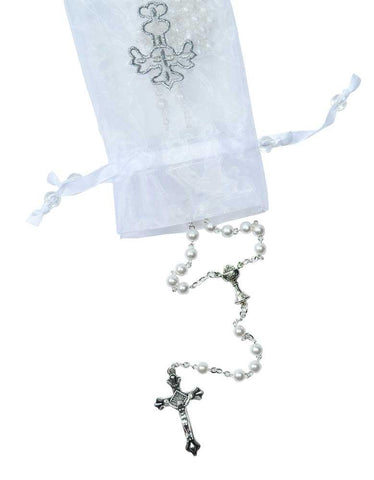 12 Pcs First Communion Rosary with Chalice in the Our Father Beads
