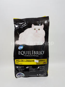 Equilibrio Long Hair Adult Cats - Hairball