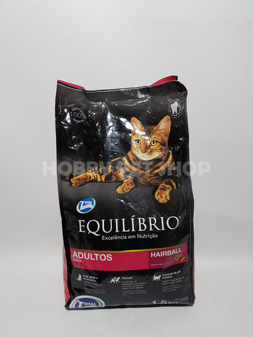 Equilibrio Adult Cats - Hairball
