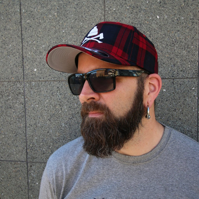 Plaid Axes Flexfit Hat