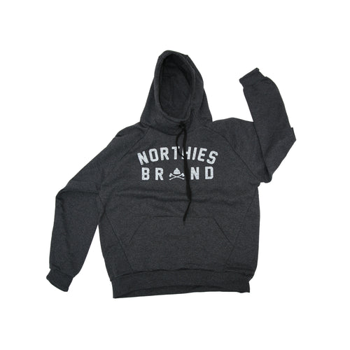 HIGH COLLAR RETRO HOODIE