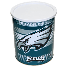 Special Edition Philadelphia Eagles Football Tin - 1 Gallon