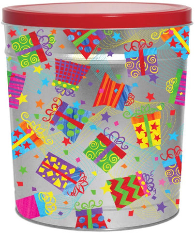 Gifts Galore Popcorn Tin - 3.5 Gallon