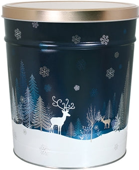 Crystal Evening Popcorn Tin - 3.5 Gallon