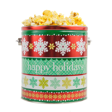 Happy Holidays Tin - 1 Gallon