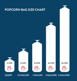 Popcorn Nation - Gourmet Popcorn Bag Sizes