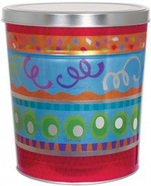 Fiesta Popcorn Tin - 3.5 Gallon
