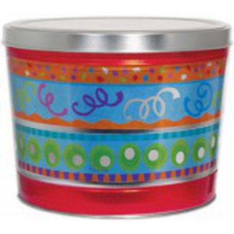 Fiesta Popcorn Tin - 2 Gallon