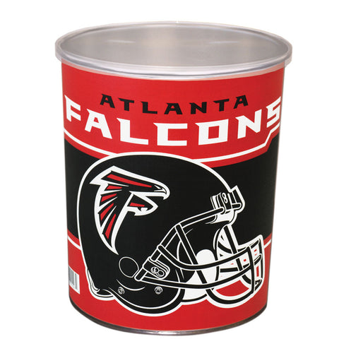 Special Edition Atlanta Falcons Popcorn Tin - 1 Gallon