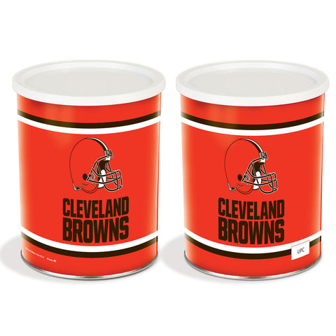 Special Edition Cleveland Browns Popcorn Tin - 1 Gallon