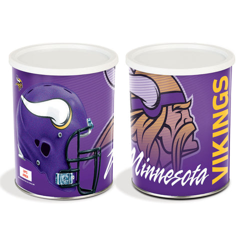 Special Edition Minnesota Vikings Popcorn Tin - 1 Gallon