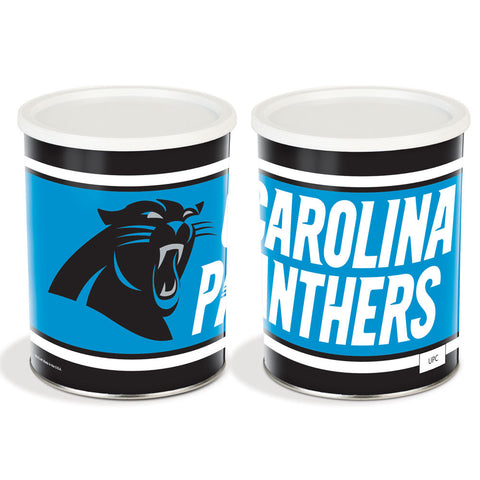Special Edition Carolina Panthers Popcorn Tin - 1 Gallon