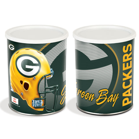 Special Edition Green Bay Packers Popcorn Tin - 1 Gallon