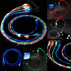 Flowing LED USB Charging Cable
