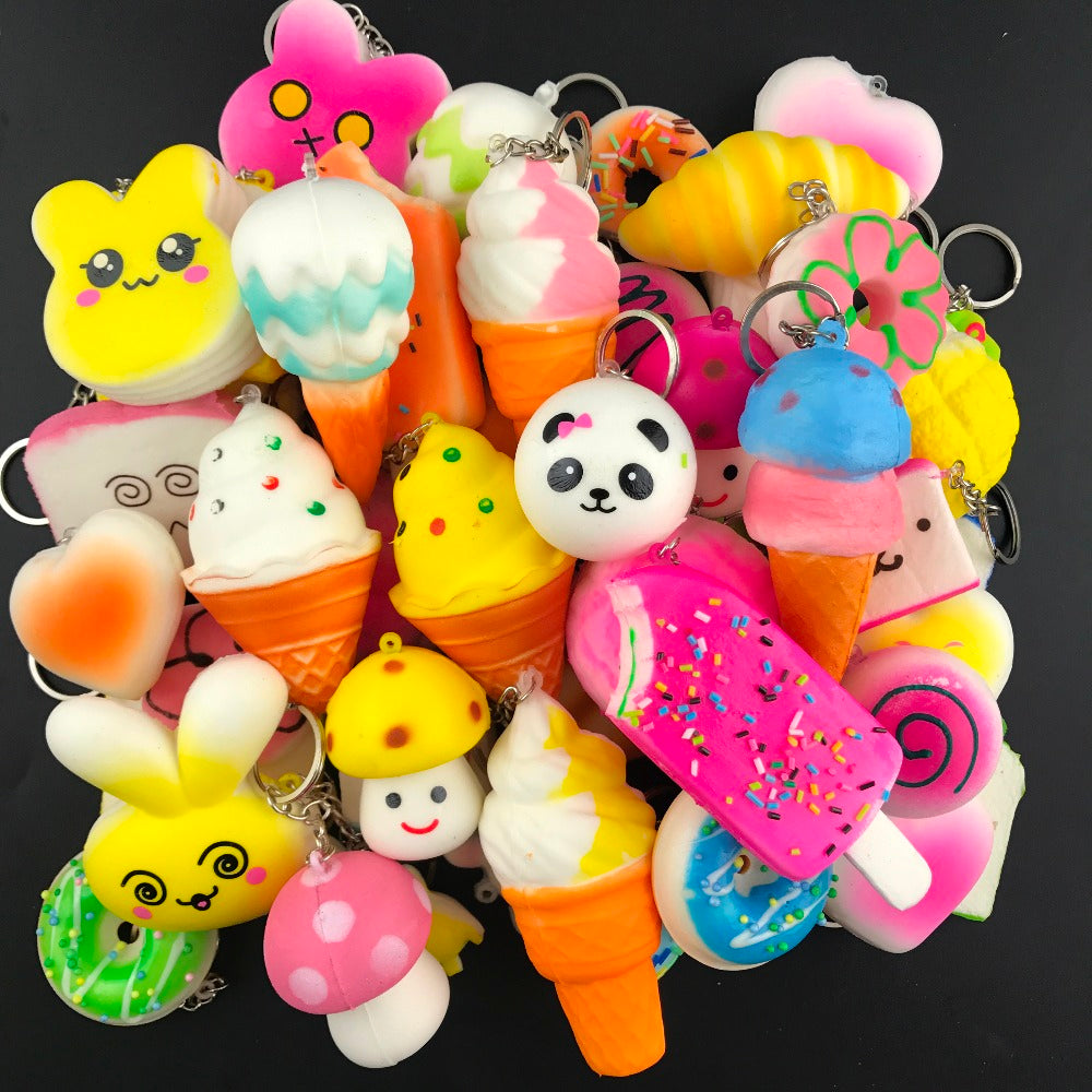 10PCS Random Squishy Anti-stress