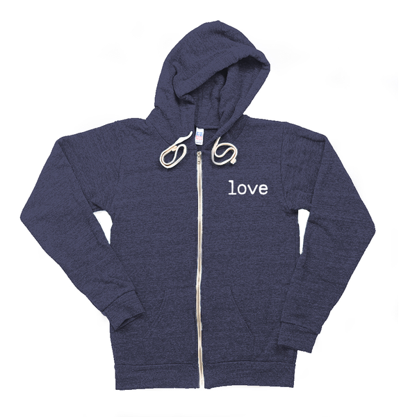 Love Zip Hoody