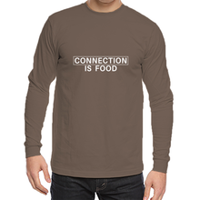 ORGANIC Connection Is Food Unisex Long Sleeve