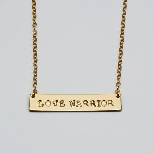 Love Warrior Necklace