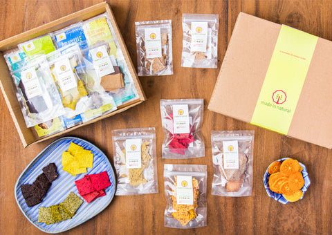 Box Instituto Goethe - 7 snacks - Made in Natural