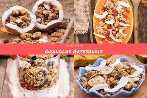 Granolas Artesanais - Made in Natural