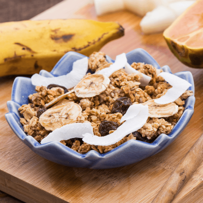 Granola Banana Rocks
