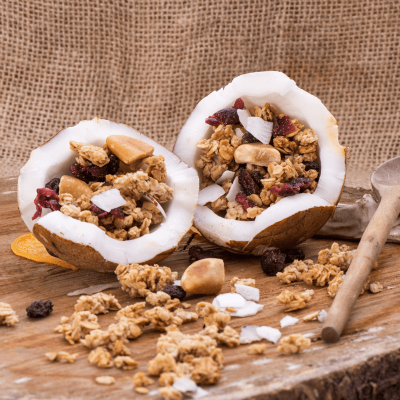 Granola Cranberry Rocks
