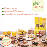 Plano Profissa - 30 snacks por mês - Made in Natural