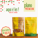 Plano Premium - 30 snacks por mês - Made in Natural