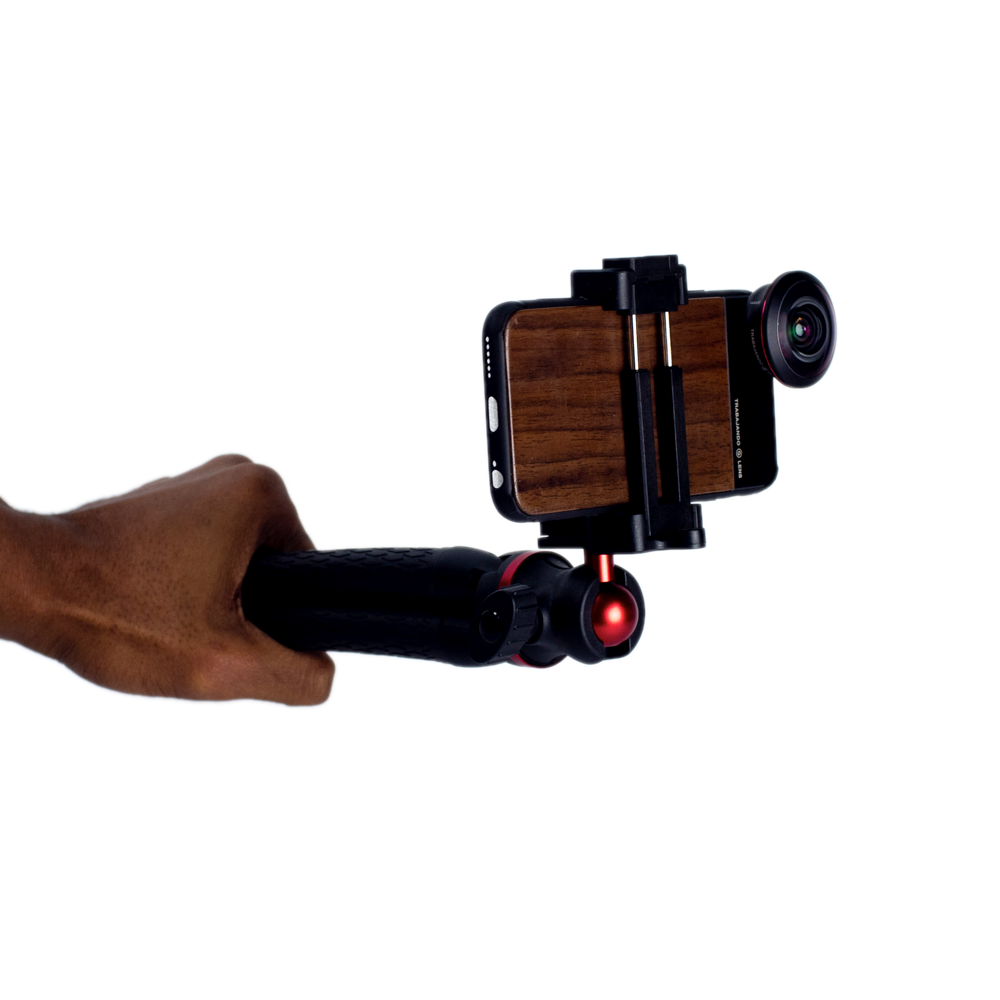 Octopus Tripod / Skate Filming Handle With Phone Attachment