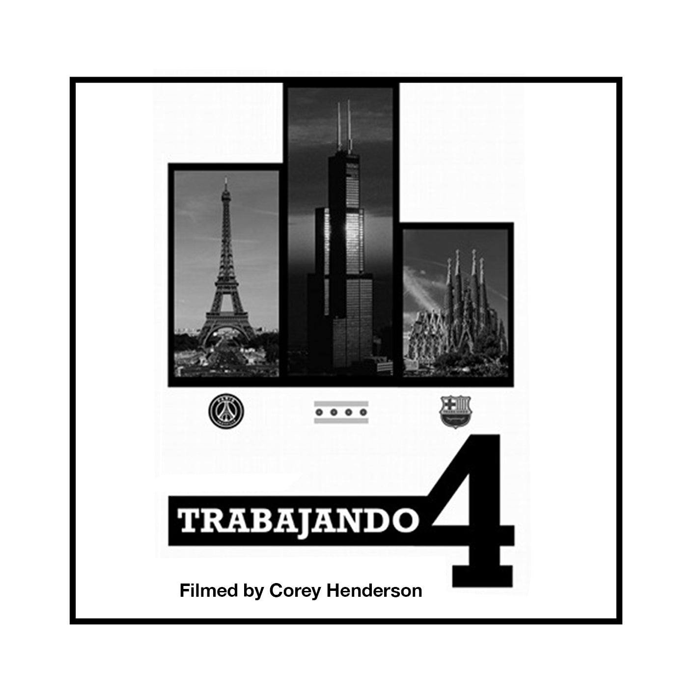 Trabajando 4 | Barcelona, Chicago, & Paris | Full Video - Trabajando Skate Apparel