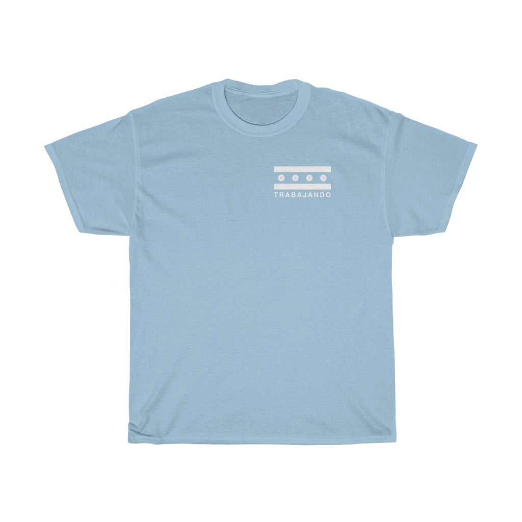 Trabajando Chicago Groundwork Light Blue Tee