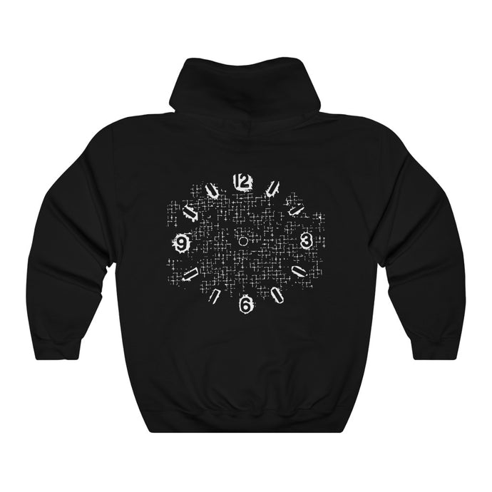 Clock Tower Black Hoodie