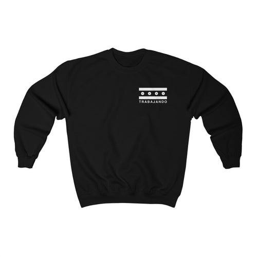 Chicago Skateboarding Black Crewneck Sweatshirt