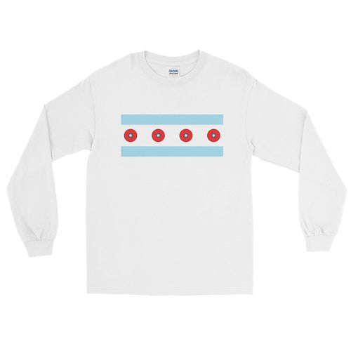 Chicago Skateboarding Long Sleeve T-Shirts - Trabajando Skate Apparel