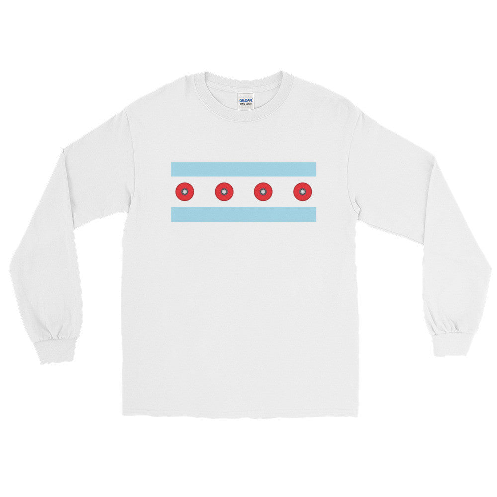 Chicago Long Sleeve T-Shirts - Trabajando Skate Apparel