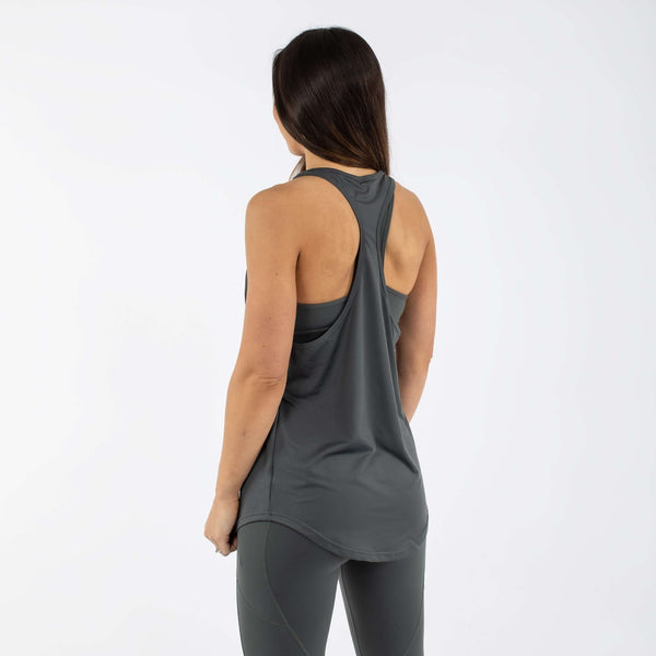 Versa Forma | Core Racer Vest - Shadow Grey