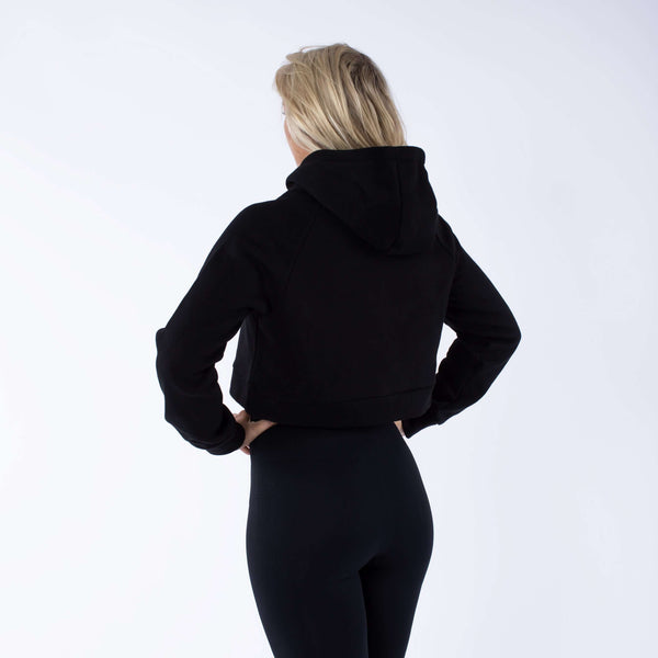 Versa Forma | Monika Crop Hood - Black