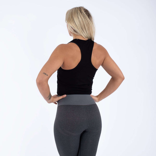 Versa Forma | Daven Crop Top - Black
