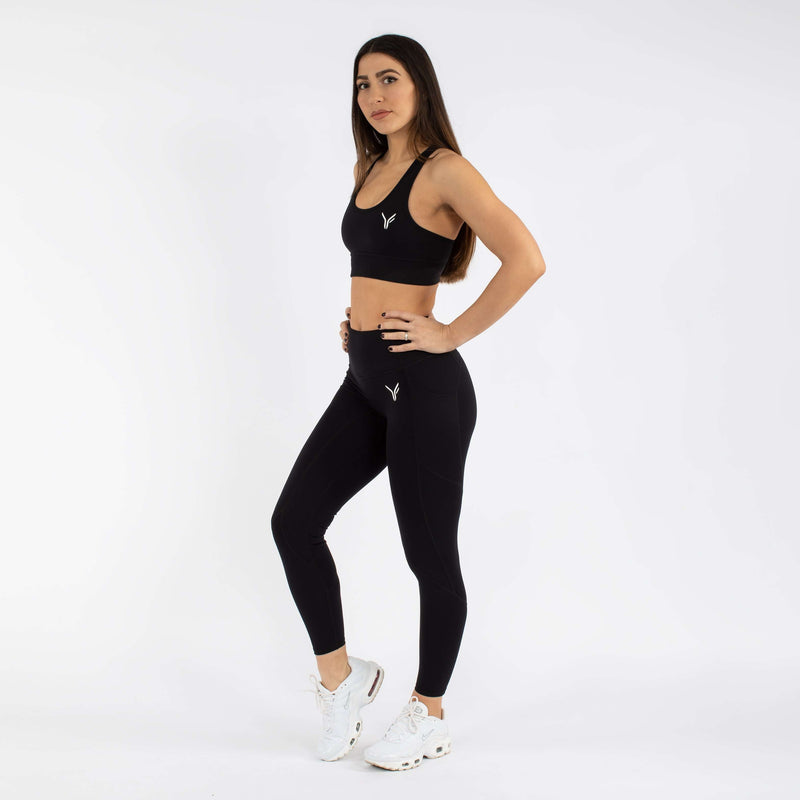 Versa Forma | Fika Leggings - Dark Black