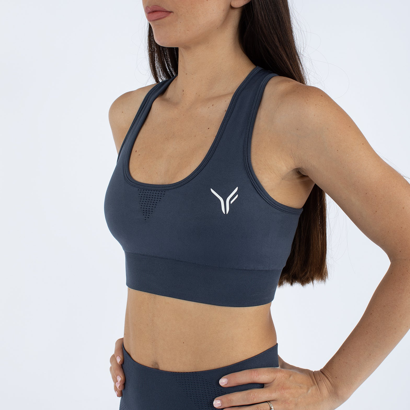 Alskar Seamless Sports Bra - Dark Grey