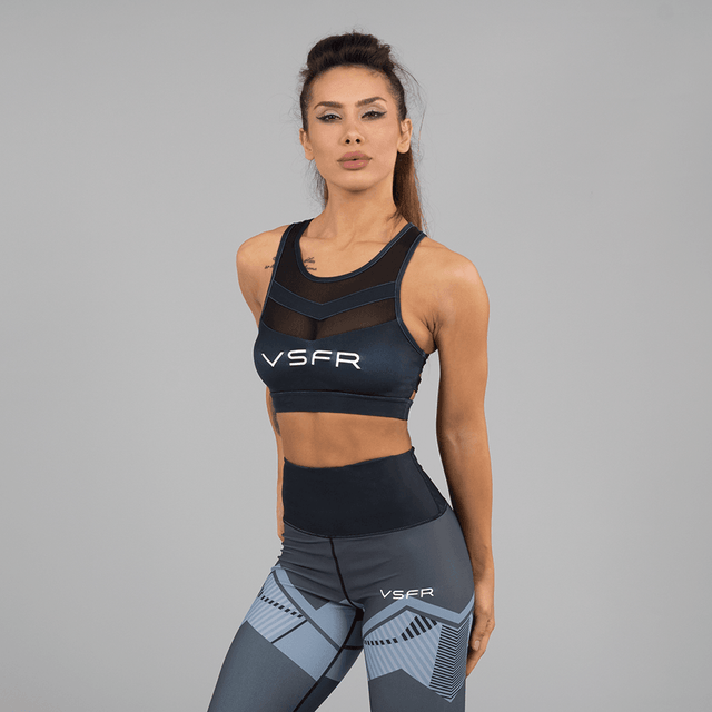 Versa Forma | Ark Crop Bra - Dark Edition