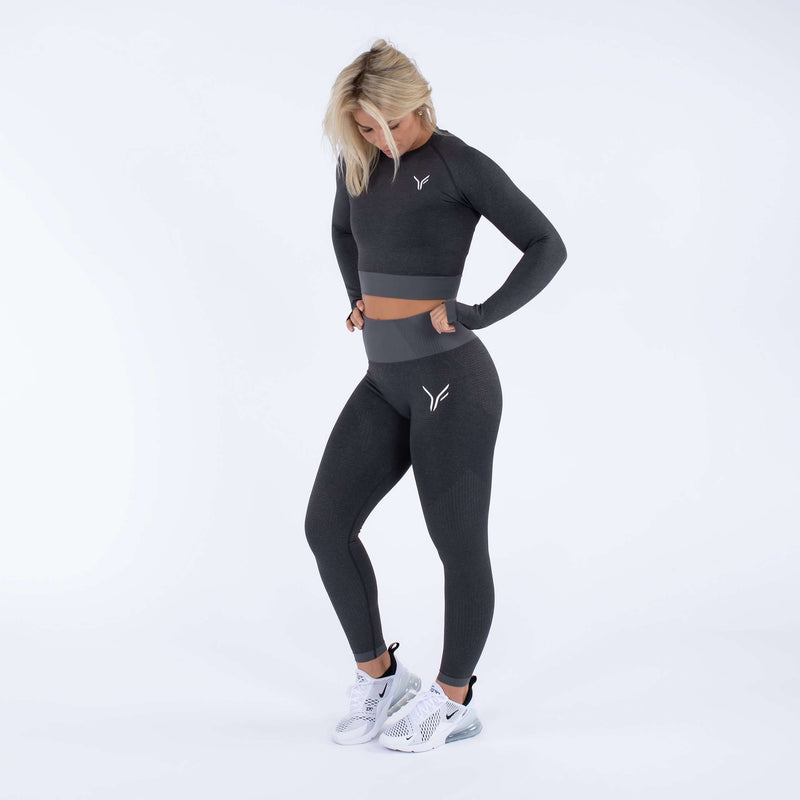 Versa Forma | Alskar Seamless Leggings - Dark Grey