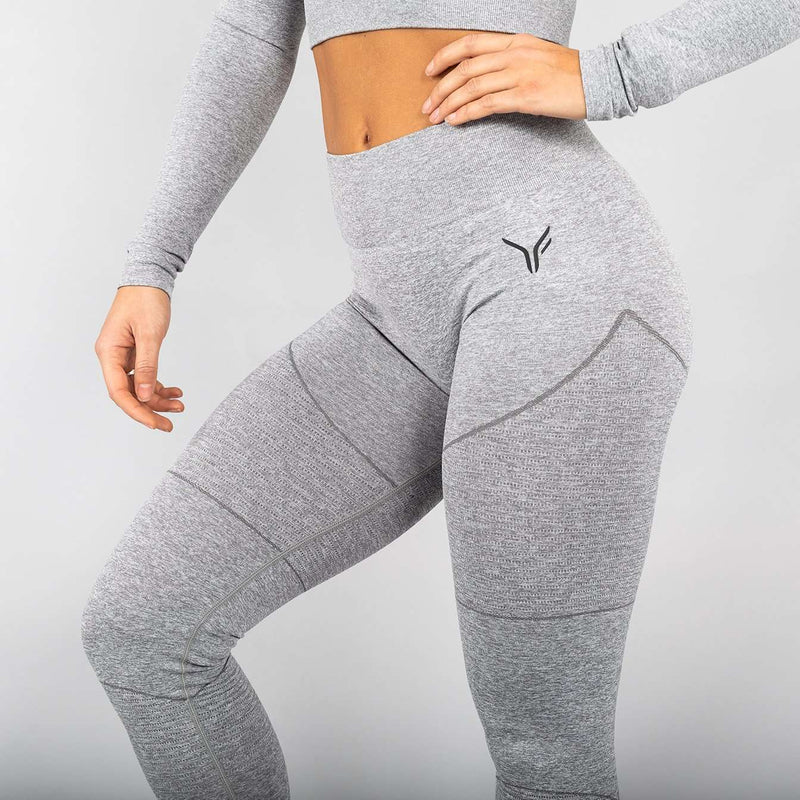 Versa Forma | Mysa Seamless Leggings - Cloud Grey