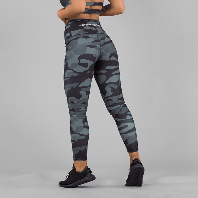 Versa Forma | Camo Leggings - Dark Edition